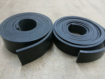 "NEOPRENE RUBBER ROLL 1/4 THK X 1"" WIDE x10 ft LONG  FREE SHIPPING"