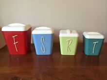 1950's Gayware canisters  Redcliffe Belmont Area Preview