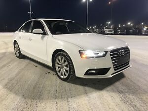 2013 Audi A4, Manual, Winter Tires