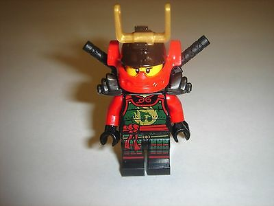 Lego Ninjago SAMURAI X minifigure with 2 swords 70750 nya new 2015