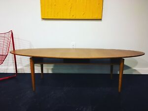 Table basse de salon scandinave