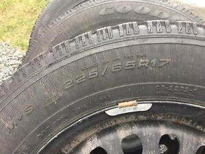 Ensemble de pneus et roues d'hiver