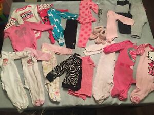Baby girl clothes lot 6 to 12 months