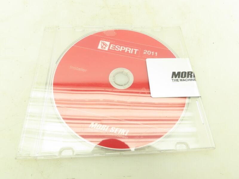 Mori Seiki Machine ESPRIT CNC CAM Software Installer CD-ROM Download 2011