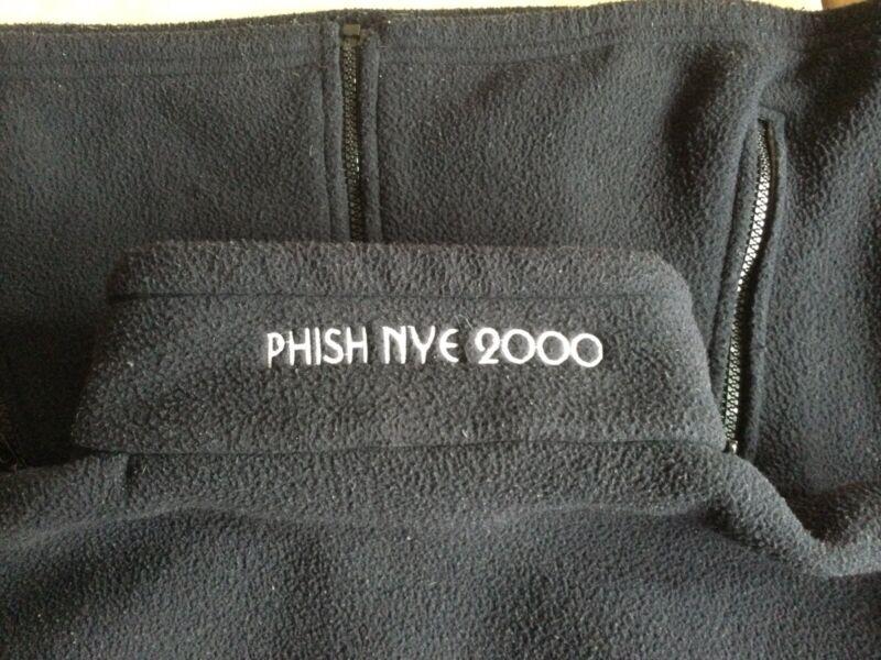Phish-Phish NYE 2000 Festival Fleece Navy Blue Medium