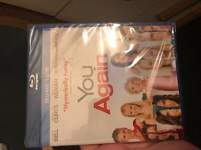 YOU AGAIN NEW BLU-RAY / DVD New Sealed (AMAZING BLU-RAY IN ORIGINAL SHRINK WRAP!
