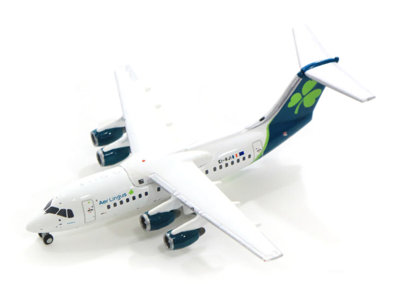 Gemini Jets Aer Lingus British Aerospace RJ85 REG#EI-RJI 1/400 . New
