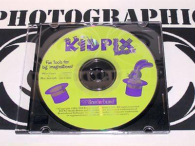Kid Pix Studio Deluxe Windows and Macintosh CD Rom Family Digital Art Studio