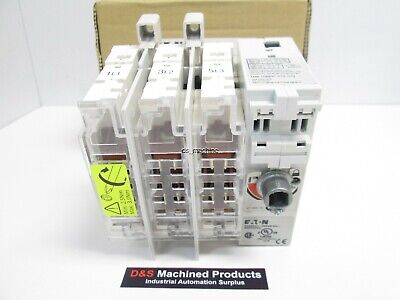 New Eaton R9i3030fcc Fusible Rotary Disconnect Switch 240-600vac 3ph 7.5-20hp