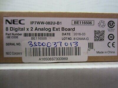 Nec Ip7ww-082u-b1 8-port Digital 2-port Analog Station Card Be116506