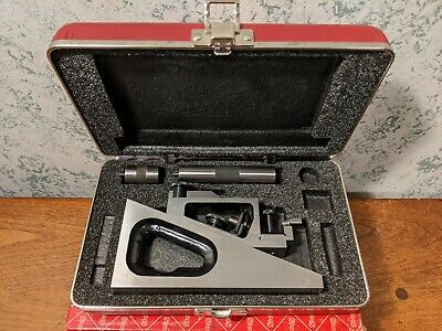 Starrett Planer Gage Set No 995ez W Case Box