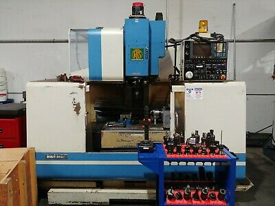 Roku Roku Vertimac-m 3 Axis Cnc Mill Fanuc 0-m Control Haas Indexable 4th Axis