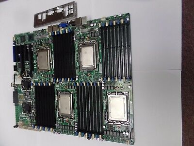 SuperMicro H8QGi-F, G34, Quad Opteron with 4 Opteron 6128 and I/O sheld