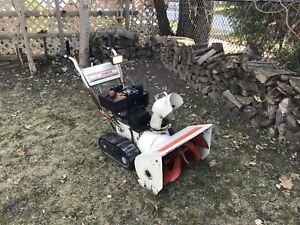 MTD Snow Flite snowblower with tracks. 8hp 24 Auger. Tuned up.