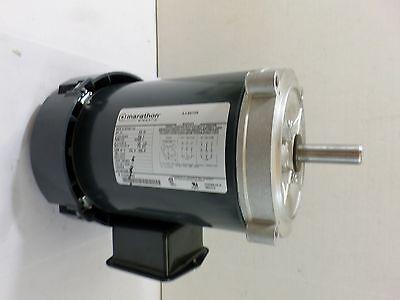 Used Marthon Electric 5k36pnb116a Ac Motor 34 Hp 60hz 3ph