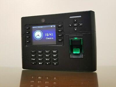 Biometric Time Clock Granding Tft900 Zkteco Iclock 700