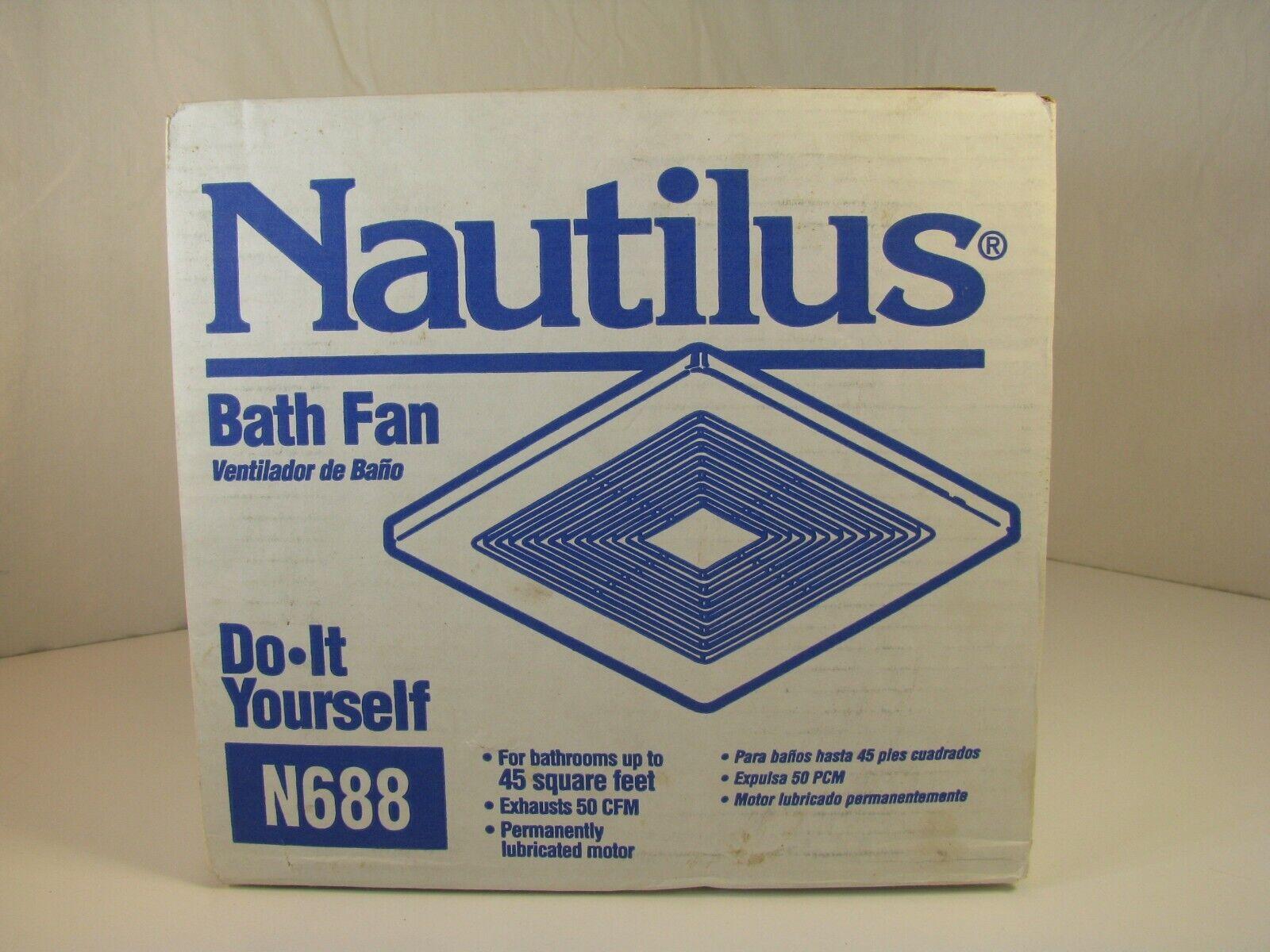 Nautilus N688 Bathroom Fan fits NuTone 693 695 696N 696ND-B