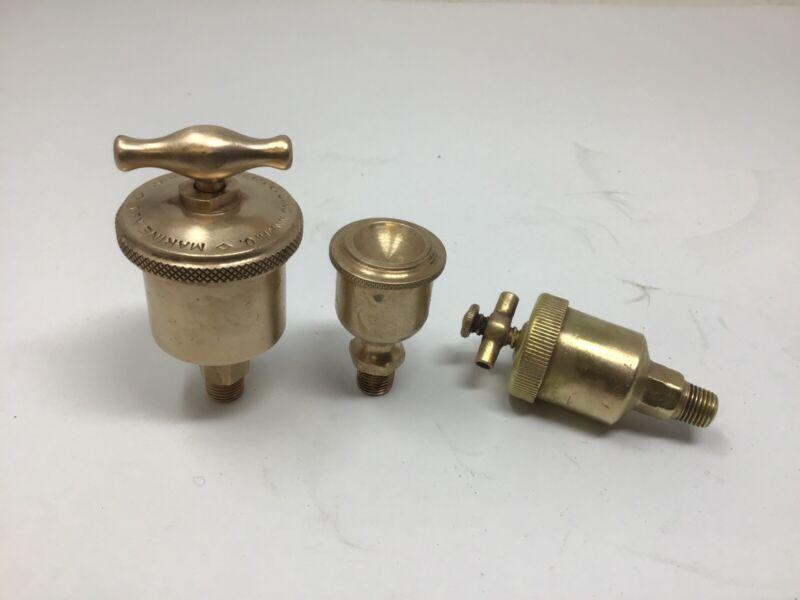 Lunkenheimer Marine No.1 Brass Grease Cup Lubricator Steam Hit & Miss Engine (3)