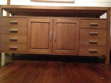 Sideboard matching Entertainment Unit in Solid Timber Byron Bay Byron Area Preview