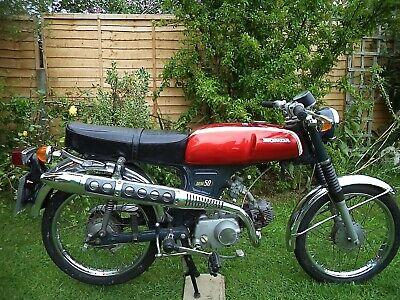 Honda SS50 - 1974 Honda SS 50 - moped from the same era as FS1E, AP50, Garelli