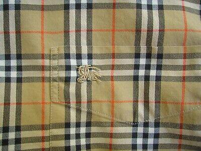 burberry mens shirt size large
