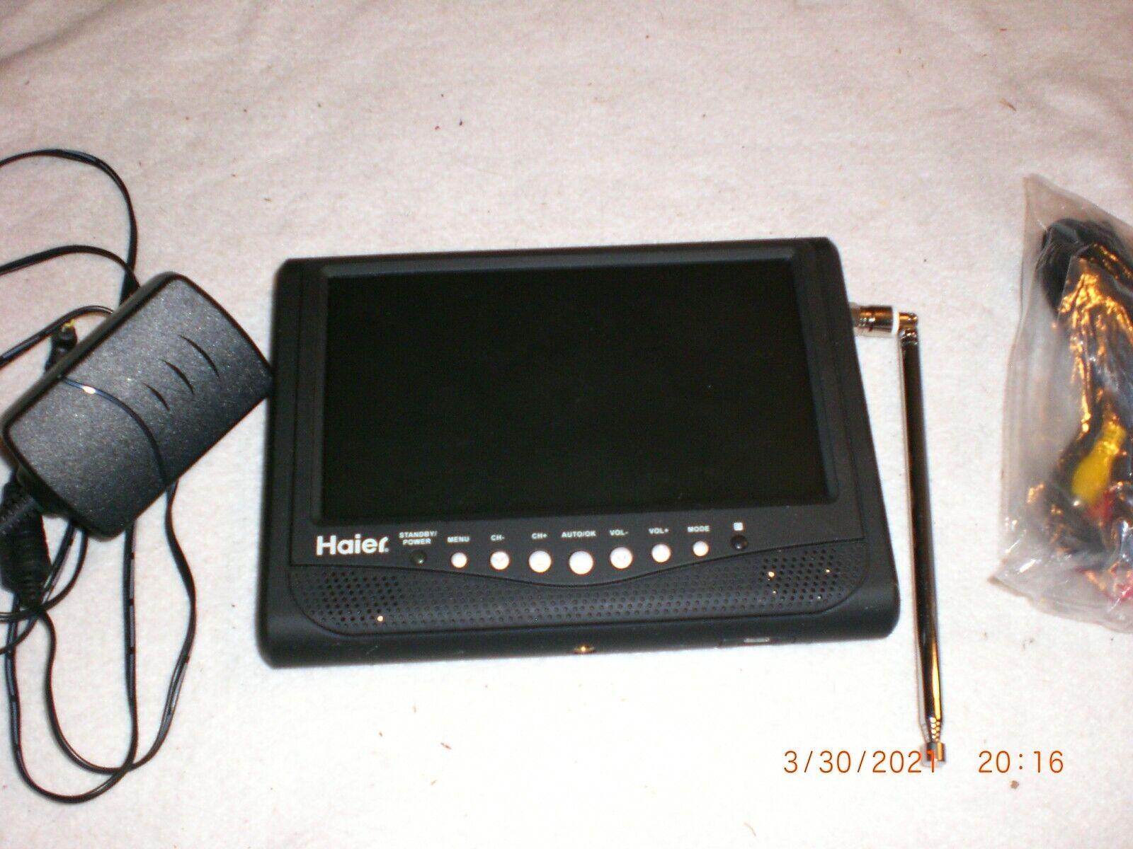 Haier HLT71 7 Inch Portable LCD TV