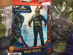 Men's (Small) War Hulk Costume **NEW with Tags