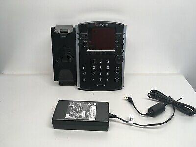 Polycom Vvx 411 Gigabit Touchscreen Ip Voip Phone 2201-48450-001 Base Only C28