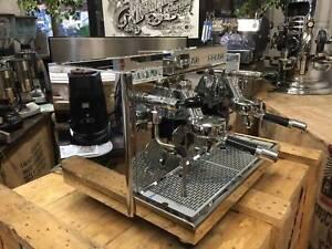 ECM ELEKTRONIKA PROFI DUE 2 GROUP ESPRESSO COFFEE MACHINE