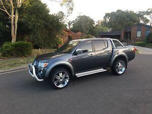 2007 Mitsubishi triton glxr rego and rwc Boronia Knox Area Preview