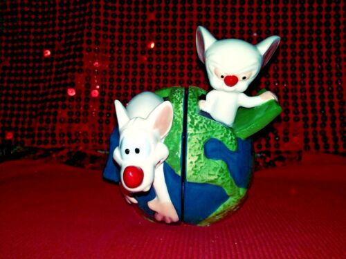 Animaniac Warner Bros., Pinky and the Brain 1998 Salt and Pepper set