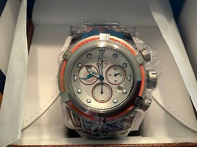 Invicta Miami Dolphins NFL Men's 52mm Bolt Zeus Quartz Chronograph Watch