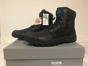 Men's Black Palladium Boots Size 8 1/2