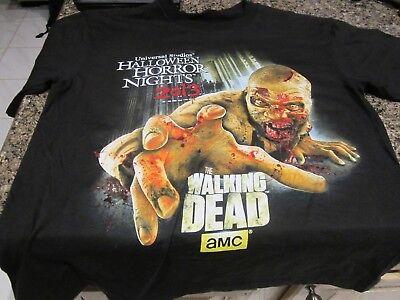 Halloween Horror Nights Walking Dead Shirt (Halloween Horror Nights - Walking Dead T-Shirt - Black - Small - 2013)