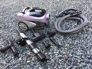 Purple Vacuum Cleaner INFINITY with lots attachments