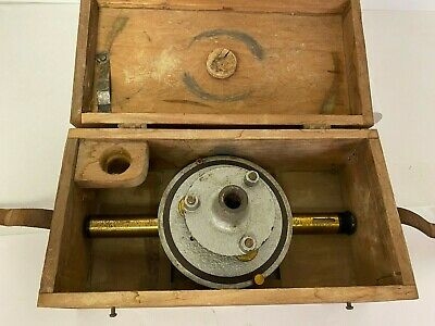 Vintage Bostrom Surveying Instrument Transit Box