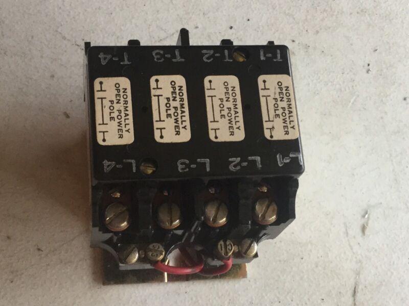 Arrow Hart 480445 MUAB000XXX Contactor 24Vac