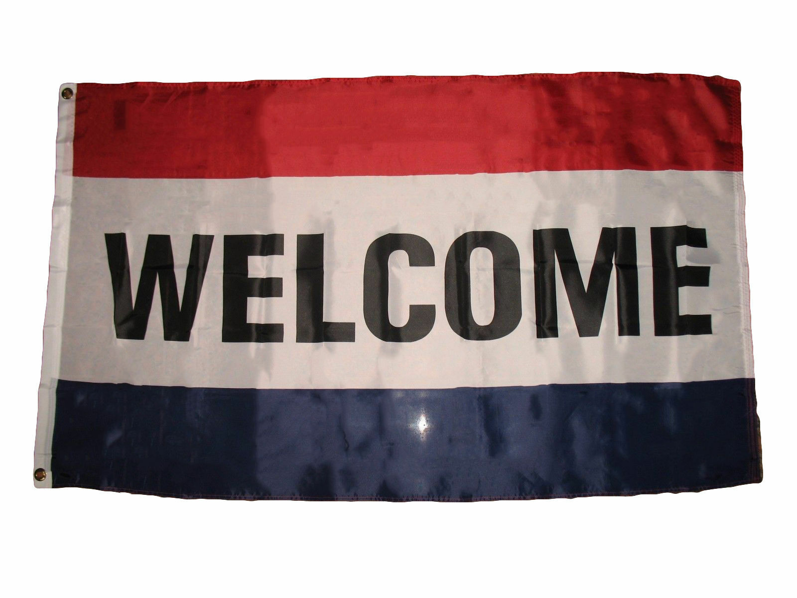 3X5 Welcome Flag 3'x5' Advertising WELCOME FLAG BANNER USA S