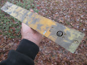 Vintage WWII British Navy Brass Parallel Rolling Rule &box Maritime Naval 10610