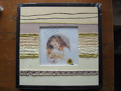 Canvas Photo Picture Frame Wall Hanging – Brand New Still Sealed.
