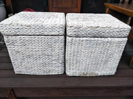 Cane storage boxes