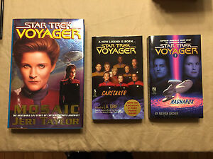 Star Trek Voyager Novels / Books