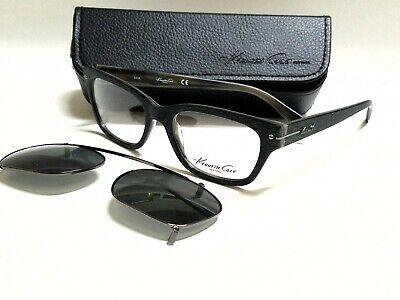 Authentic KENNETH COLE REACTION KC0240 65D W/Clip on Polarized 51mm (Polar Eyeglasses)