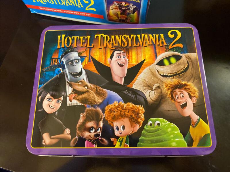 Hotel Transylvania 2 tin Lunch Box