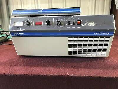 Beckman Gs-6r Refrigerated Benchtop Centrifuge 362114 A1-1