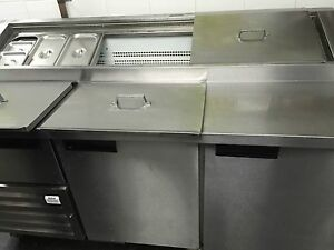 USED 3-DOOR PIZZA REFRIGERATOR Findon Charles Sturt Area Preview