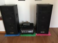 Party Speaker Rental (Houses and Halls) $150.00