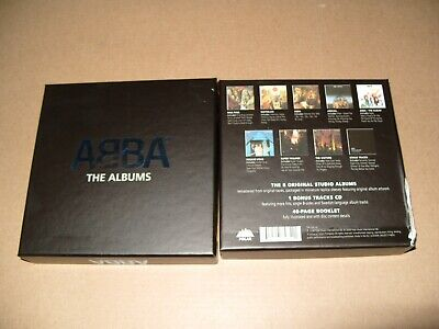 ABBA The Albums (2008) 9 cd + Inlays Are Mint Condition /Damaged Box (C23)