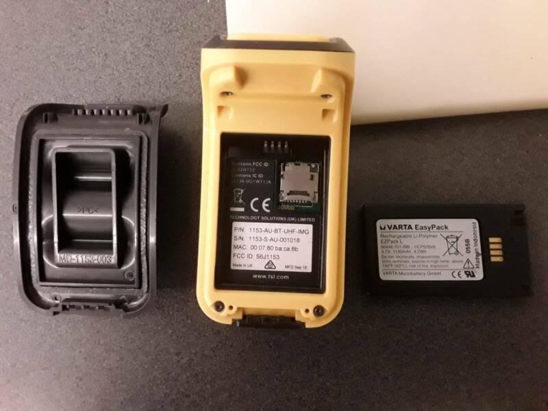 Varta ezpack l barcode nfc reader/