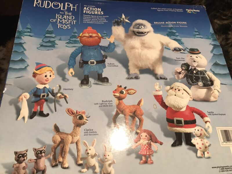 VtG rudolf and the island of misfit toys ornament collection